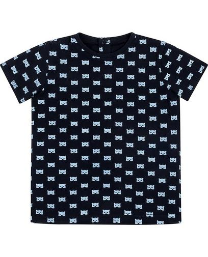 T-shirt met allover print